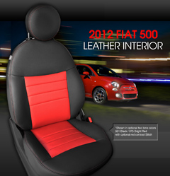 Fiat 500 Leather Interior