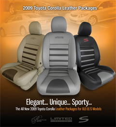 Corolla Leather Kit